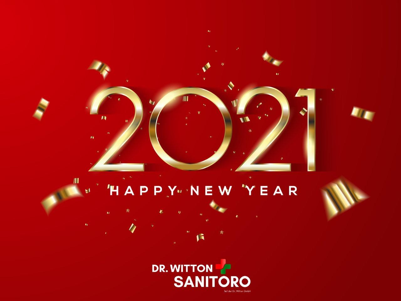 Wir wünschen alle ein frohes Neues Jahr !